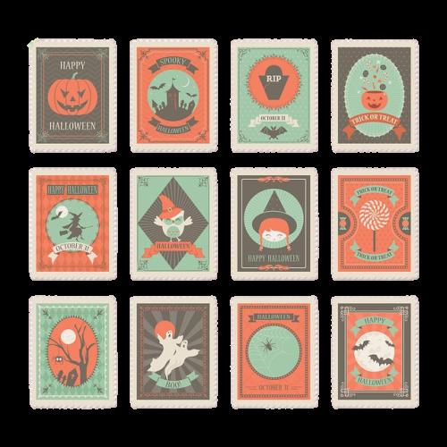 ハロウィーンの切手
