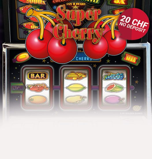 Super Cherry Spielautomaten Keyvisual