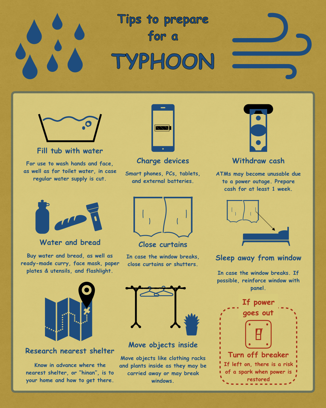 How to Prepare for a Typhoon in Japan