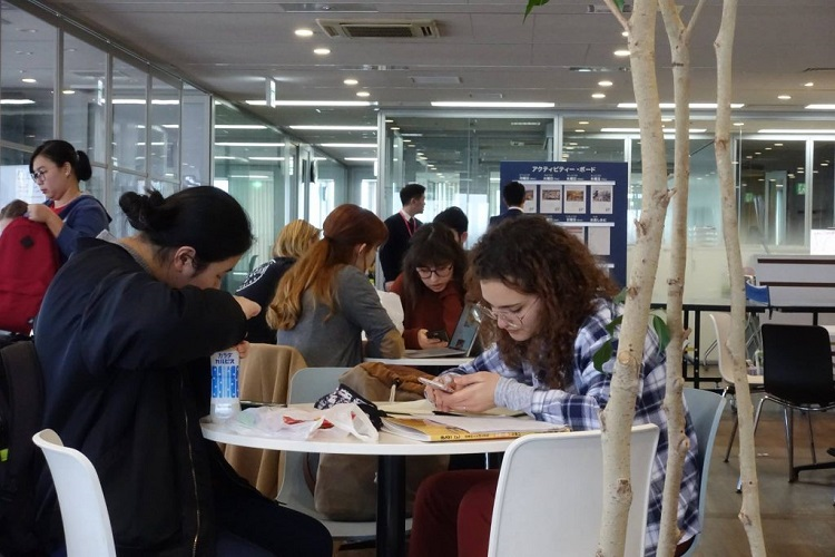 DEOW Visits EF Language Headquarters in Tokyo