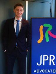 Lucas Bloemers, student-stagiair bij JPR advocaten