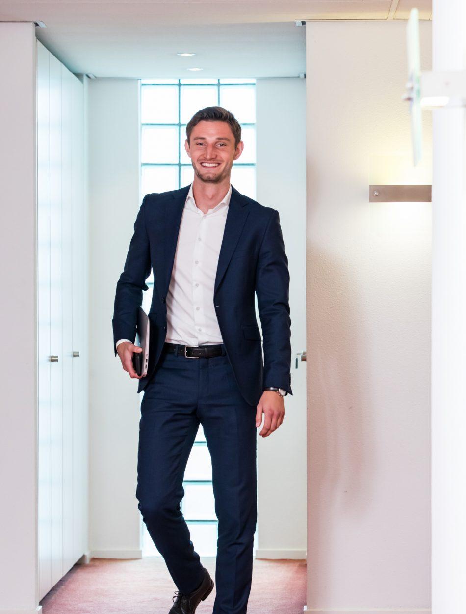 Lucas Bloemers: van student-stagiair op weg naar advocaat