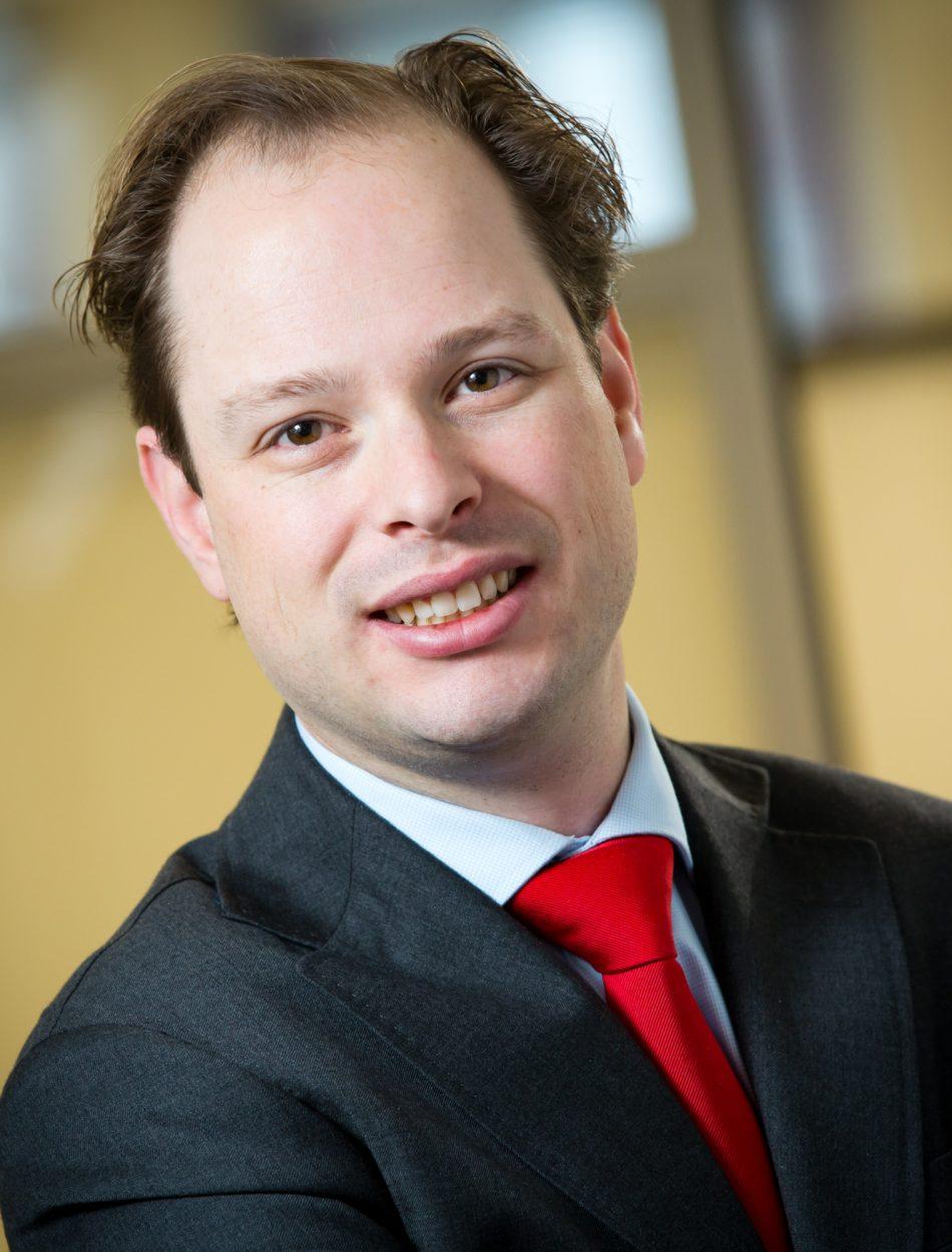 Niek Borm, advocaat op het kantoor in Deventer