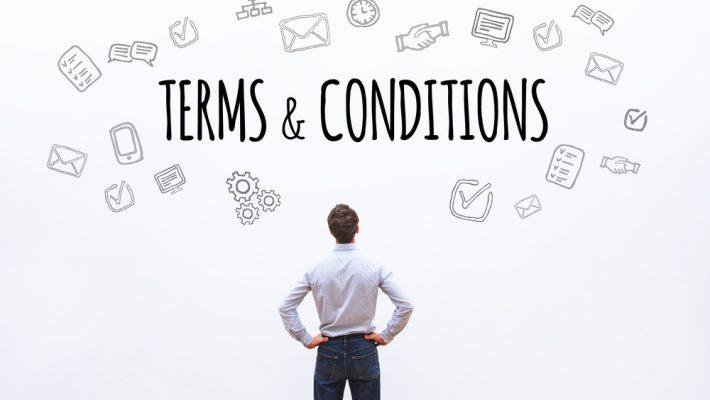 Verplichtingen webshops, deel 6: algemene voorwaarden