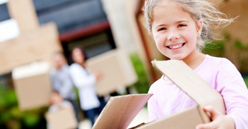 Na echtscheiding verhuizen met kinderen