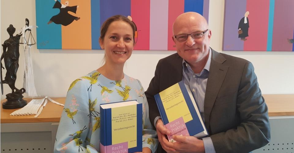 Vijfde druk Handboek Verzekeringsrecht met bijdragen van Pieter Leerink en Manon Pluymen