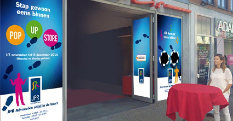 JPR Advocaten opent pop-up store in de binnenstad van Doetinchem