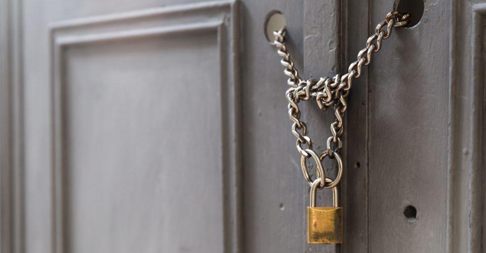 Meer sluitingen van (huur)panden in 2019