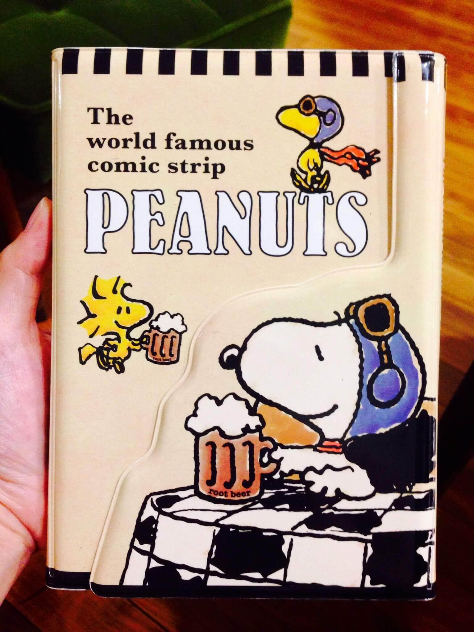 Snoopy2015手帳開箱文