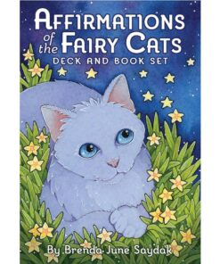 Affirmations of the Fairy Cats Deck and Book Set-0