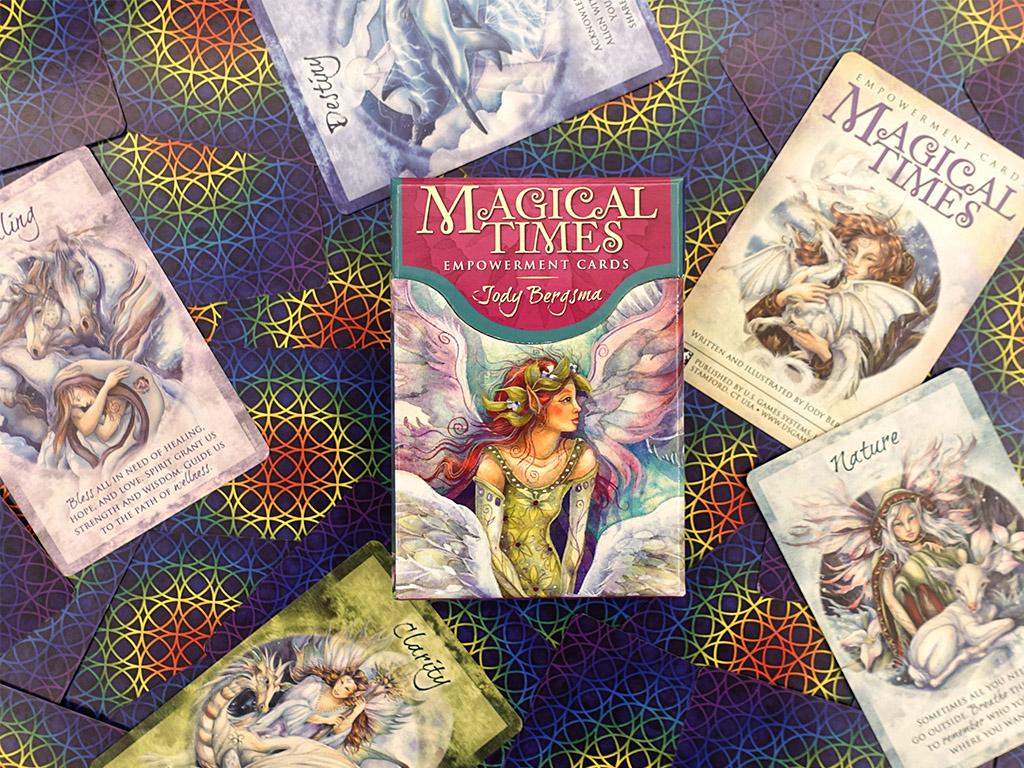 牌卡測驗|美妙時光激勵卡:溫和而富有力量的訊息|醫藥輪之聖靈冥想卡繪者作品