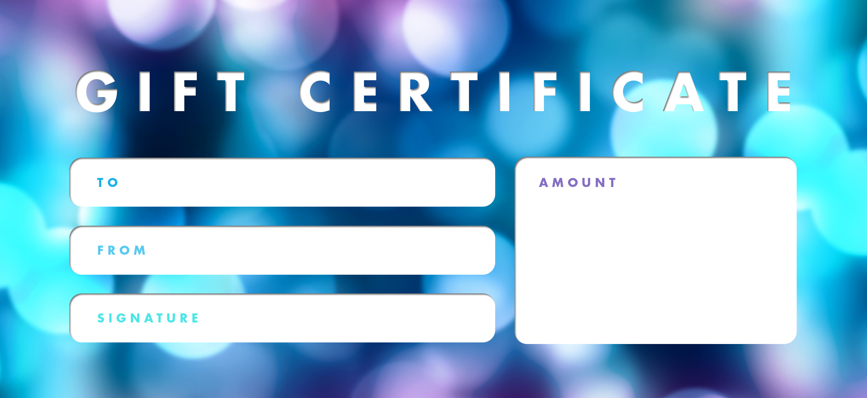 free online gift certificates
