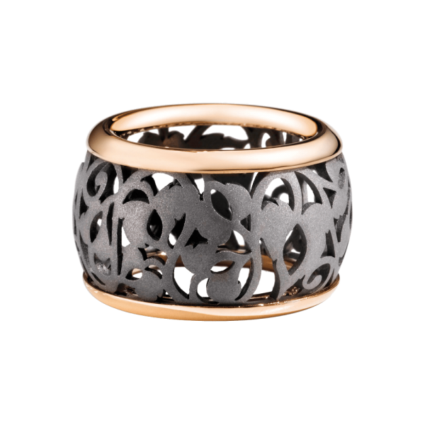 Pomellato Ring Arabesque Noir