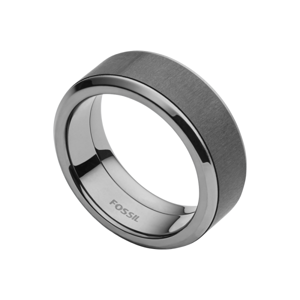 Fossil Carbon Fiber Ring JF02368793