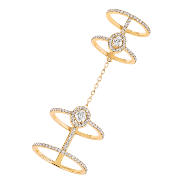 Messika Ring Glam'Azone Double Pavé 5671Y
