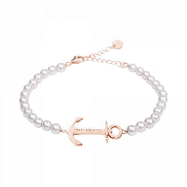 Paul Hewitt Armband Anchor Spirit Pearl PH-ABB-R-P