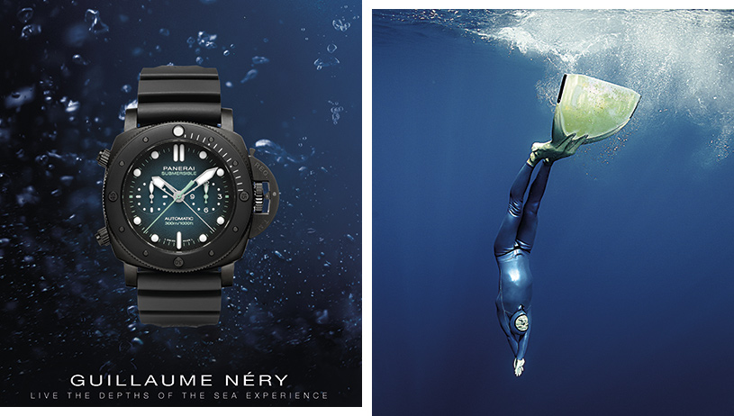 Panerai | Submersible Chrono Guillaume Néry Edition
