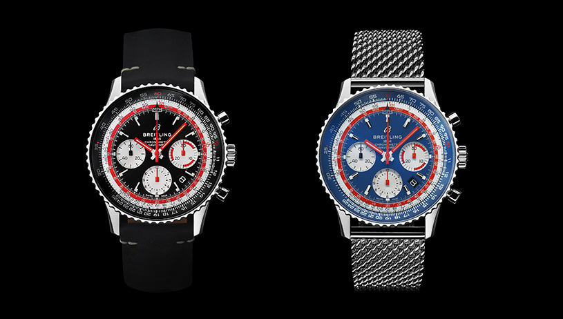 Breitling Navitimer 1 Airline Editions: Swissair & Pan Am | © Breitling