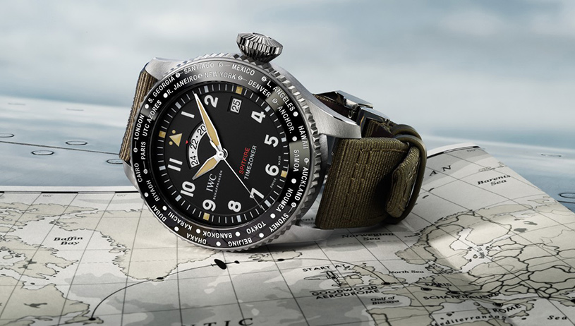 "IWC | Pilot's Watch Timezoner Spitfire Edition ""The Longest Flight"""