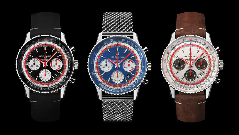 Breitling Navitimer 1 Airline Editions: Swissair, Pan Am & TWA | © Breitling