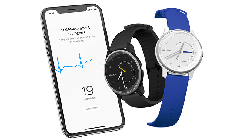CES 2019 Smartwatch Withings Move ECG