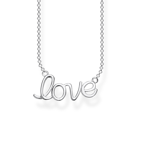 Thomas Sabo | Love Anchor-Collier aus Sterling-Silber