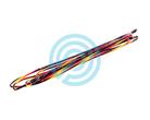 Flex Archery Bowstring 8125 Supra Black-Yellow-Red