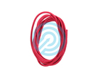 BCY D-Loop Rope .060 Red Braided Polyester 1 meter