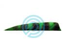 "Trueflight Feathers 4"" Shield RW Barred"