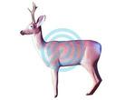 Eleven Target 3D Deer Dark with Horns