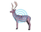 Eleven Target 3D Fallow Deer with Insert and Horns