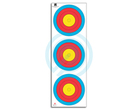JVD Target Face Fita 3x20 cm Vertical Compound