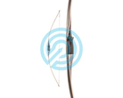 Bear Archery Longbow Montana Black Maple