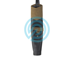 White Feather Back Quiver Earthquake Brown
