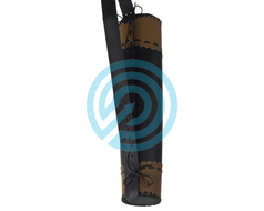 White Feather Back Quiver Tornado