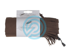 White Feather Bow Cover Frost