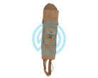 White Feather Back Quiver Water Brown