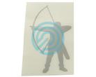 Arctec Archery Sticker Longbow
