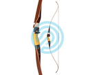 Bear Archery Fieldbow One Piece Kodiak 60 WhtMaple