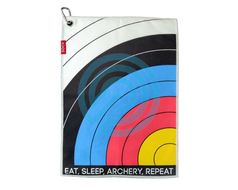 Socx Towel Eat Sleep Archery Repeat