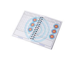Fivics Target Score Book