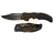Cold Steel Knife Recon 1 Clip Point Half Serrated