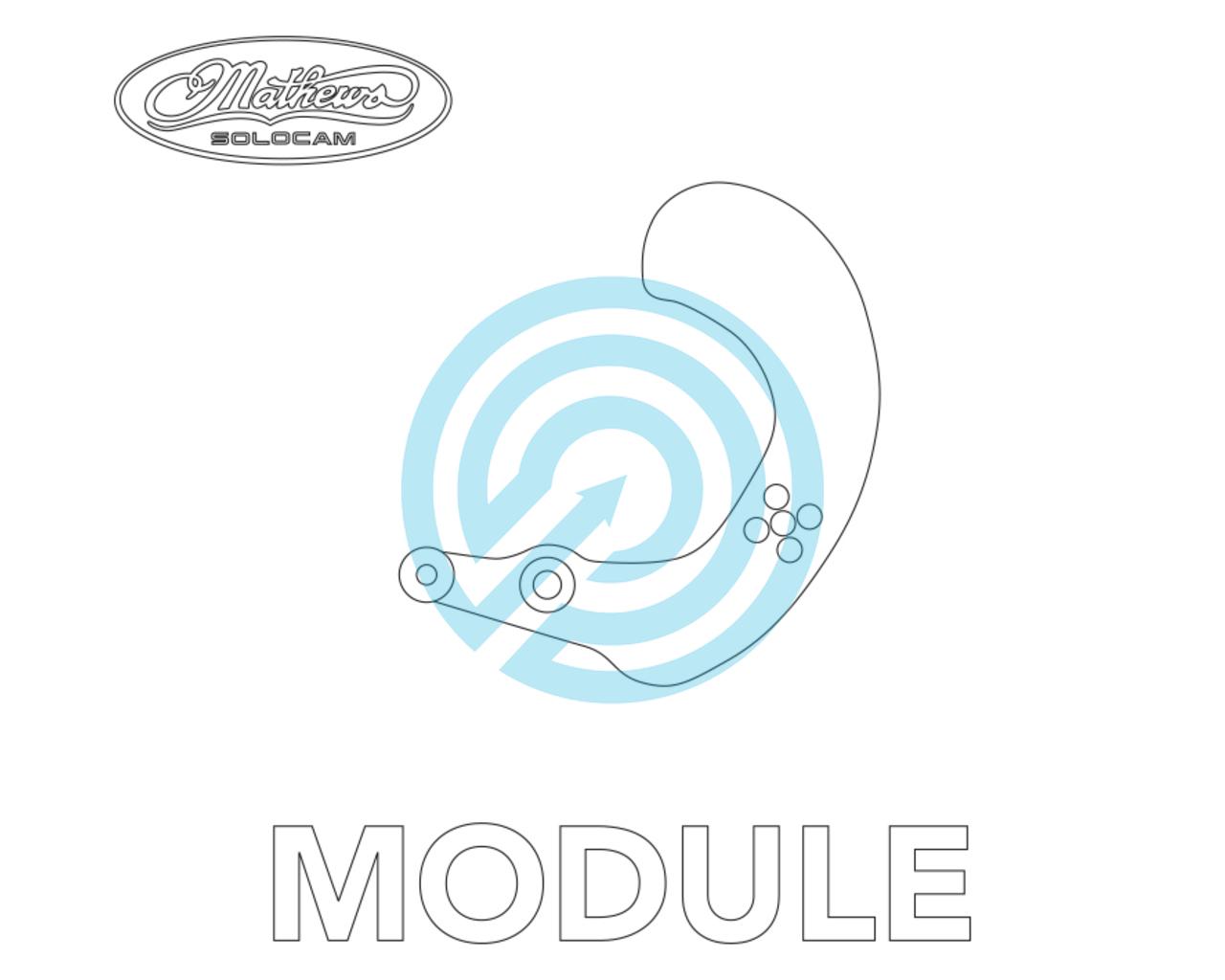 Mathews Module Crosscentric Cam | 113381-1000 | JVD Archery