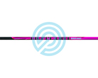 Black Eagle Arrow Fletched Pink Outlaw .005""