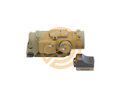 Nuprol Scope Phantom F DR 4x32 + DR RDS Sight FDE
