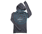 Hoyt Hooded T-Shirt Ladies Long Sleeve On Point
