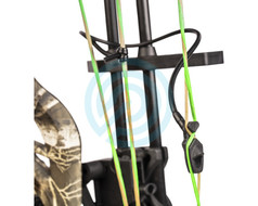 "Fletcher Archery Tub Peep and Tube 1/4"" No Tie"