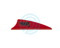 Bohning Vanes X3 Shield Cut 1.75""