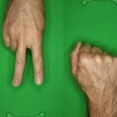 Starter: Rock-Paper-Scissors Images dfe1fd07-5 | Kaggle