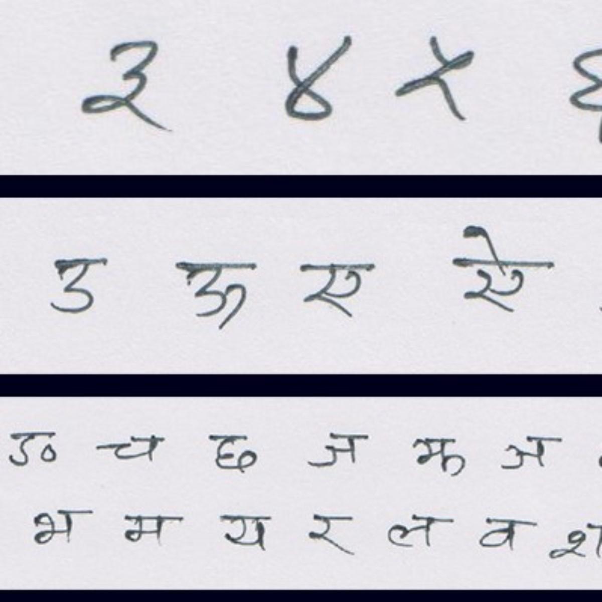 Devanagari Character Dataset | Kaggle
